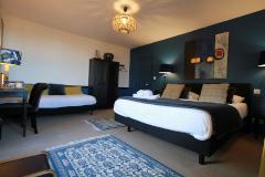 La chambre Bleue à la Haute-Flourie, chambre d'hôtes à Saint-Malo