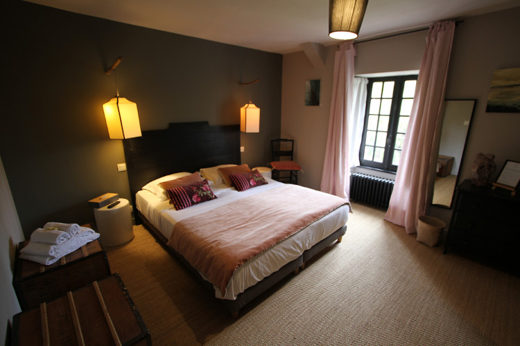 Parme Bedroom at la Haute-Flourie,  Bed & Breakfast in Saint-Malo