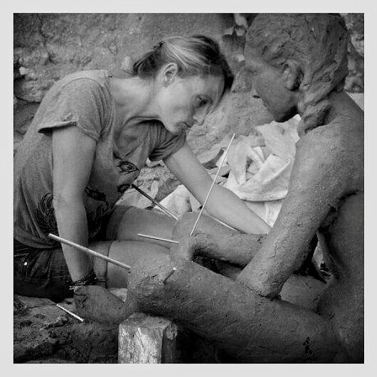 Myriam de Lafforest sculptor